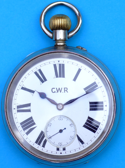 GWR Pre-Grouping Pocket Watch, By Rotherhams