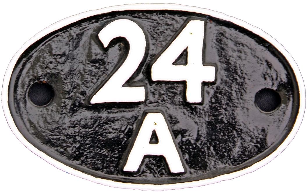 Shedplate 24a, Accrington Until September 1963.
