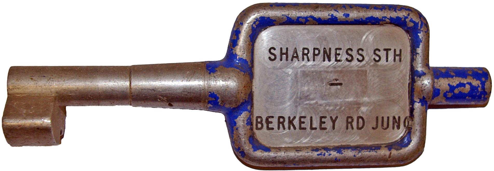 Alloy Key Token SHARPNESS STH - BERKELEY RD JUNC.