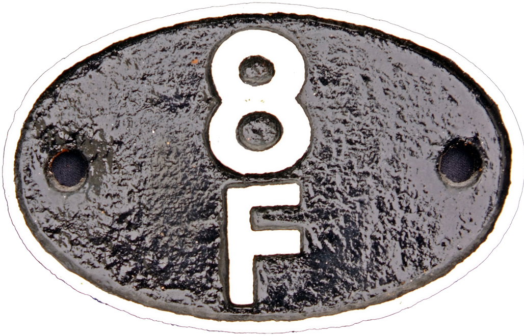 Shedplate 8f, Springs Branch Wigan Until May 1973.