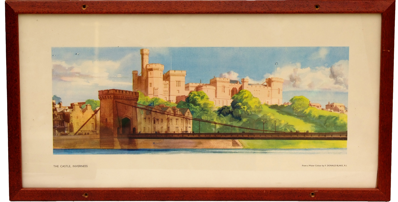 Carriage Print The Castle, Inverness By Donald