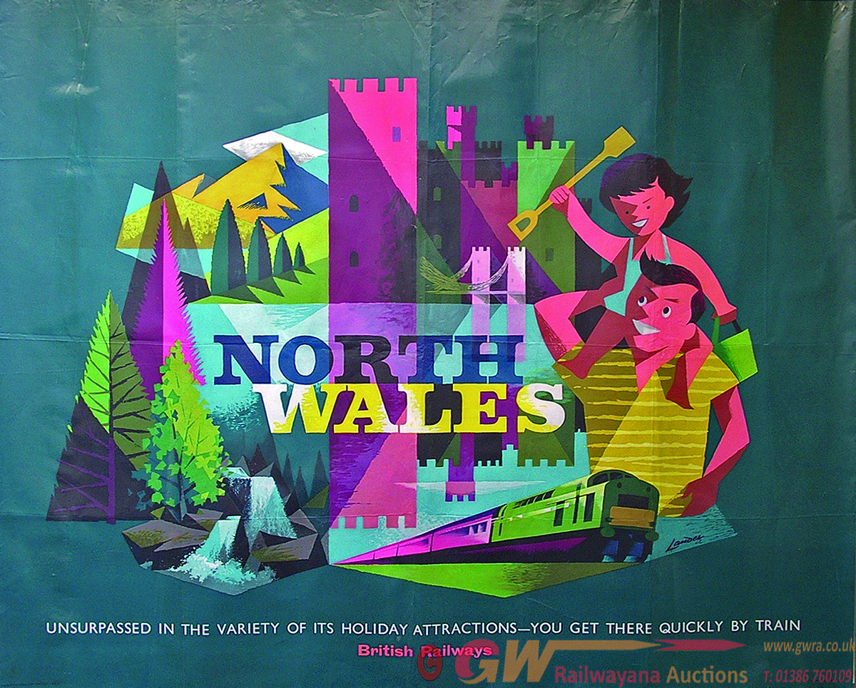 Poster, BR Q/R North Wales - Unsurpassed In The