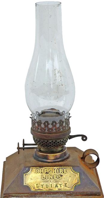 CLC Platform Lamp Interior Complete With Burner