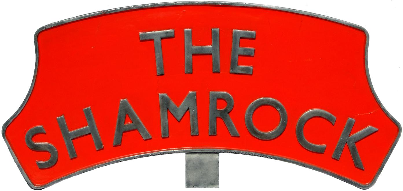 Headboard THE SHAMROCK. Famously Used Between 1954