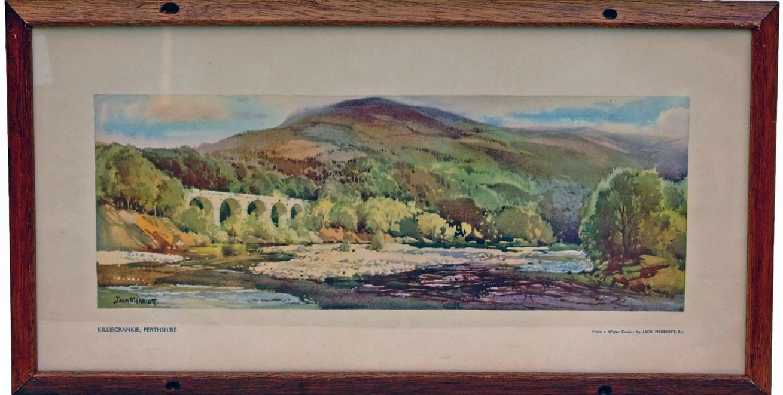 Carriage Print, 'Killicrankie, Perthshire' By