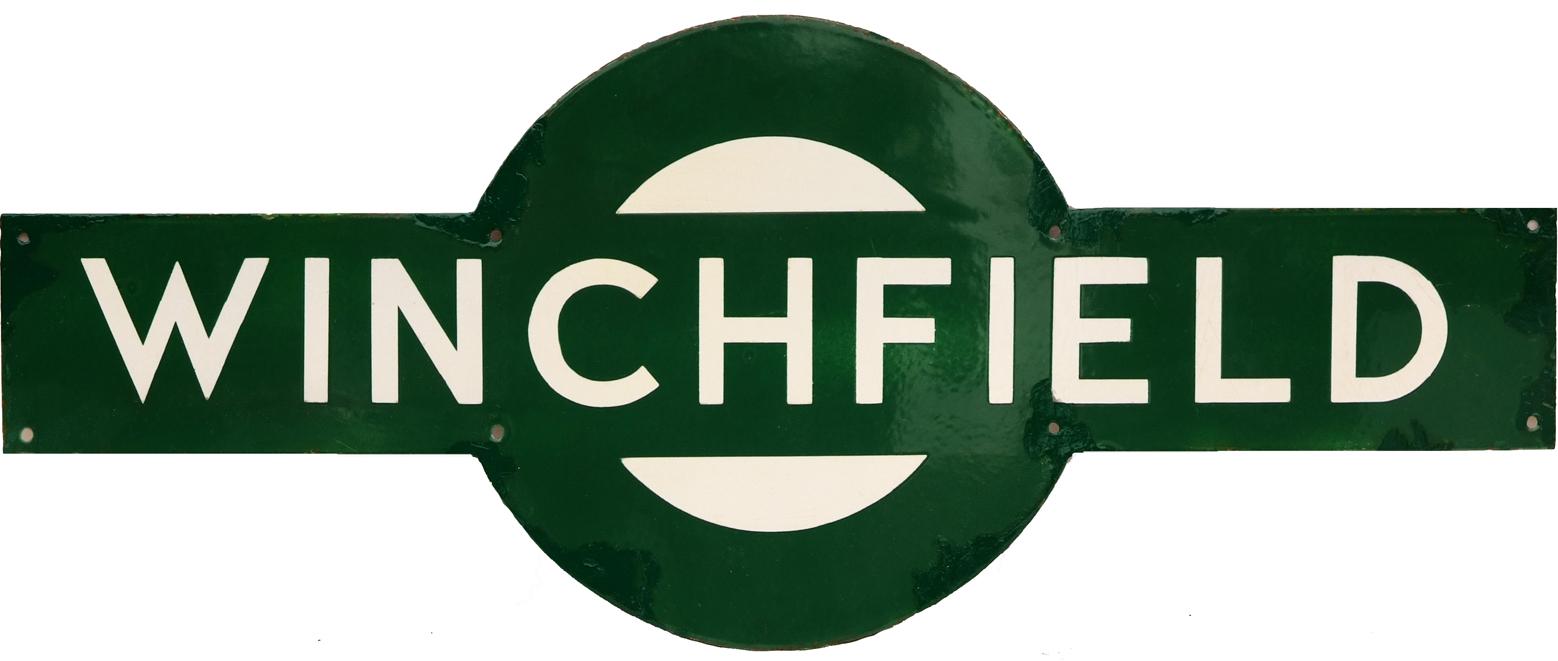 Southern Railway Target WINCHFIELD. Ex LSWR