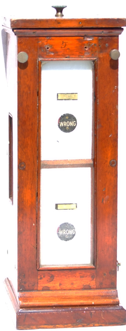 GWR Mahogany Cased Signal Box  Double Slotting