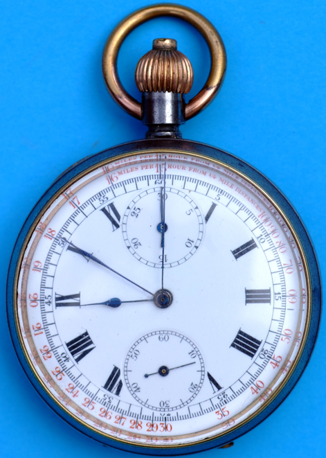 LSWR Chronometer Pocket Watch Beautifully Engraved