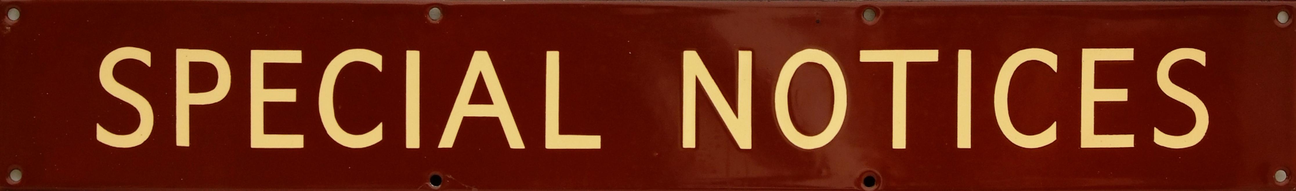 British Railways(W) Enamel Poster Board Heading