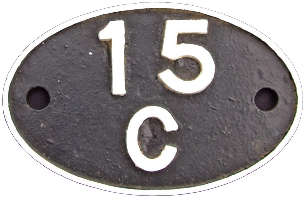 Shedplate 15c, Leicester Midland Until September
