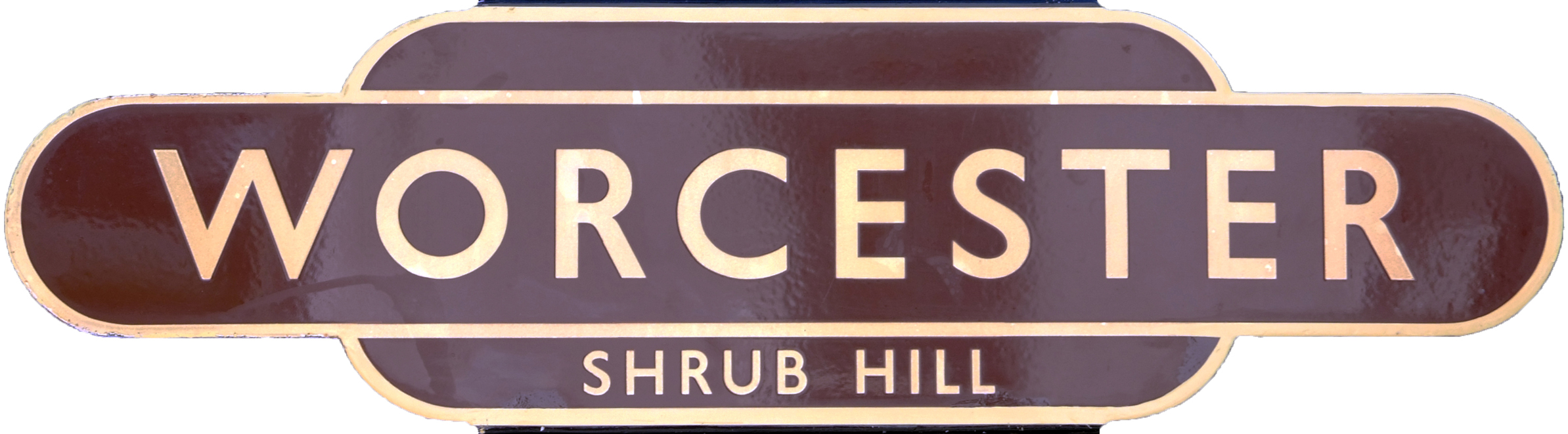 Totem, BR(W) WORCESTER SHRUB HILL, H/F. Ex Oxford