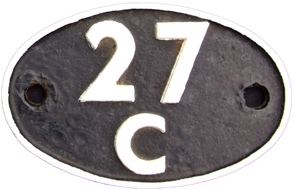 Shedplate 27c, Southport Until September 1963.