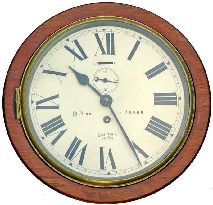 Great Eastern Railway 8 Mahogany Cased Clock