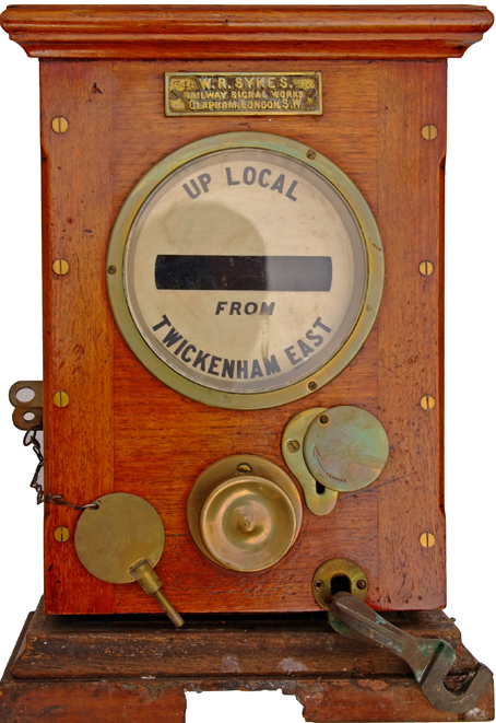 Sykes Lock & Block Instrument Showing 'UP LOCAL