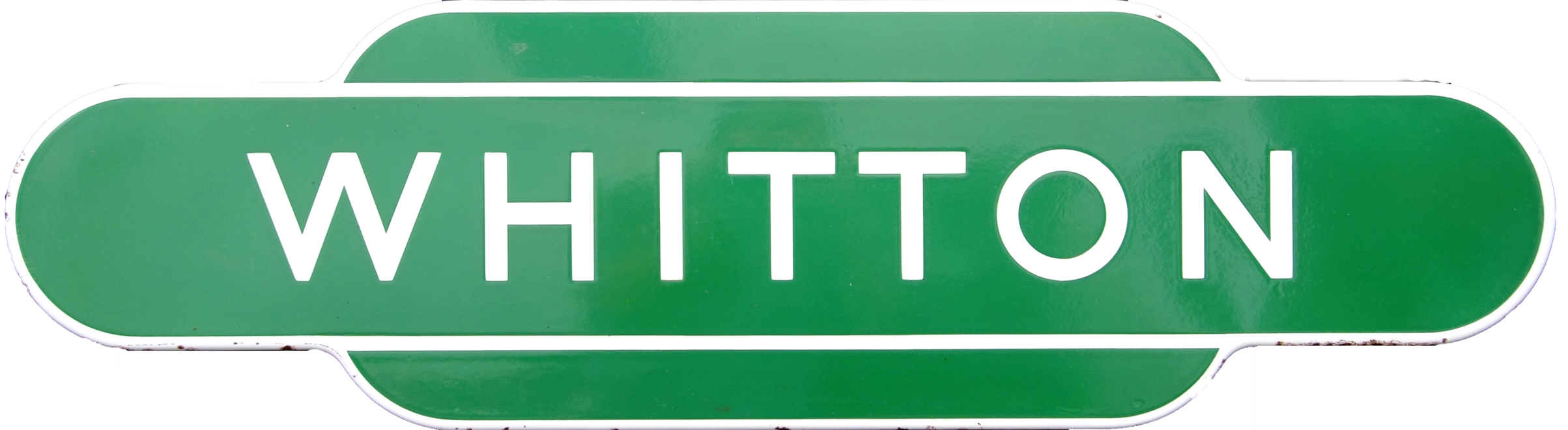 Totem, BR(S) WHITTON, F/F Dark Green. Ex LSWR