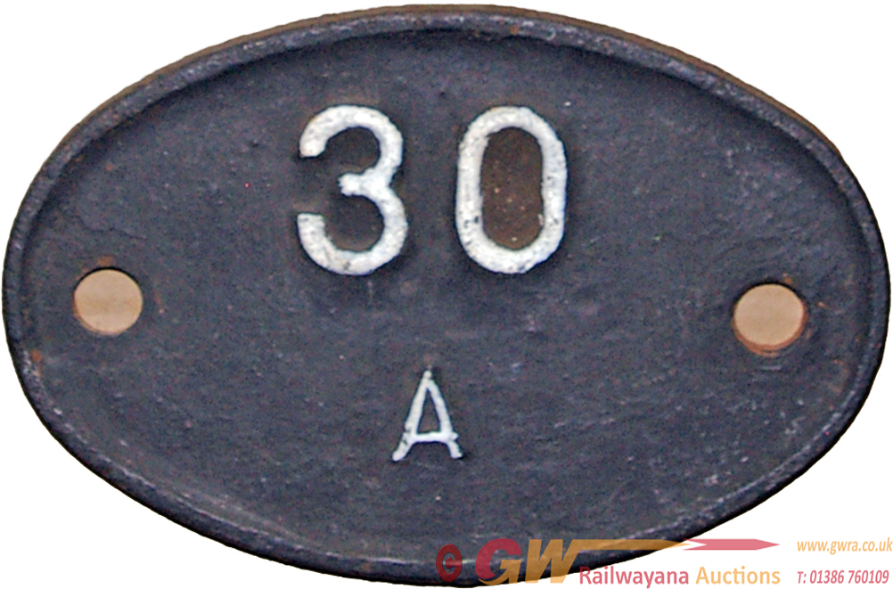 Shedplate 30a, Stratford Until May 1973. Smaller