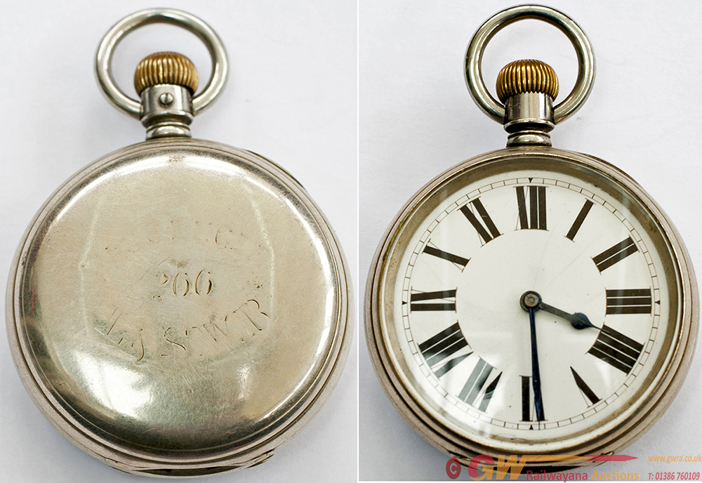 LSWR Pocket Watch, By The American Watch Company