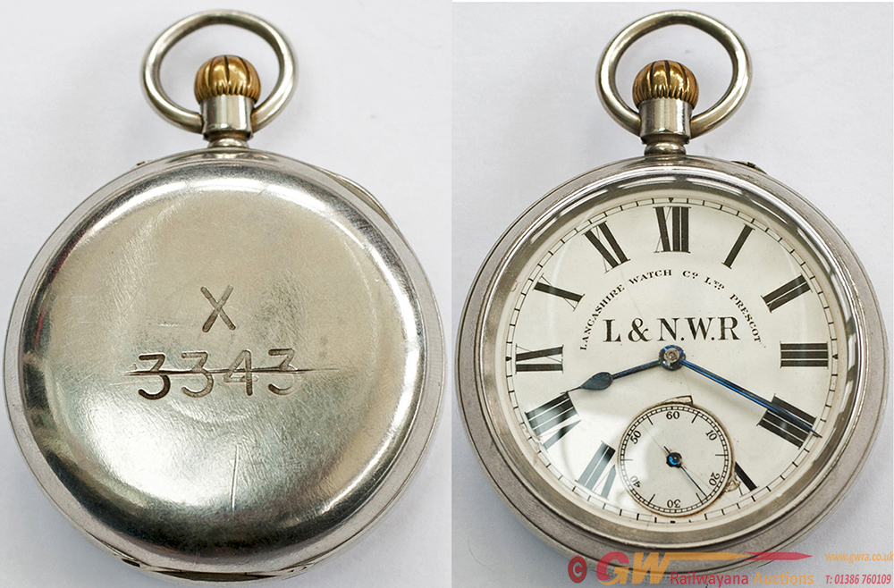 LNWR Pocket Watch, By Lancashire Watch Co Ltd