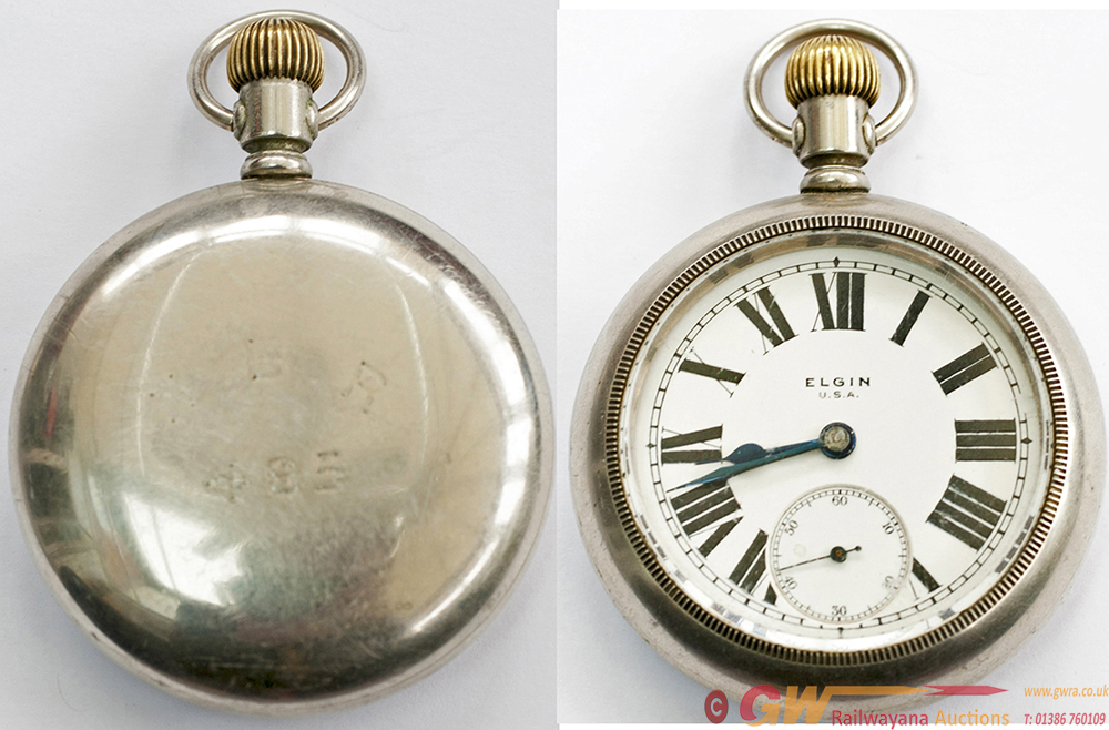 NBR Pocket Watch, By The Elgin National Watch