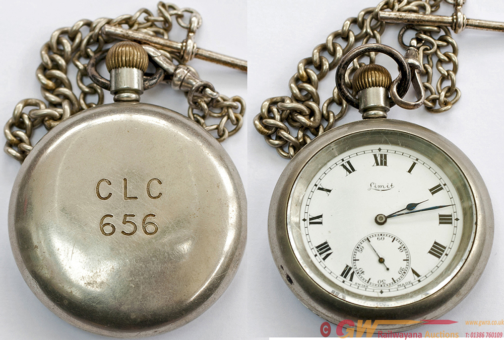 Cheshire Lines Committee Pocket Watch By Limit