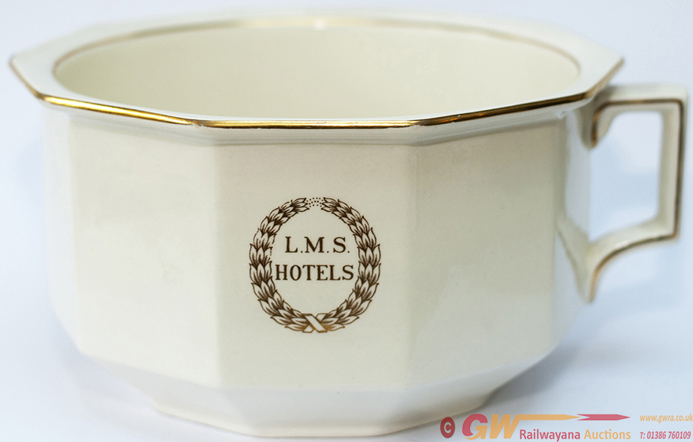 LMS China Chamber Pot With LMS HOTELS Surrounded