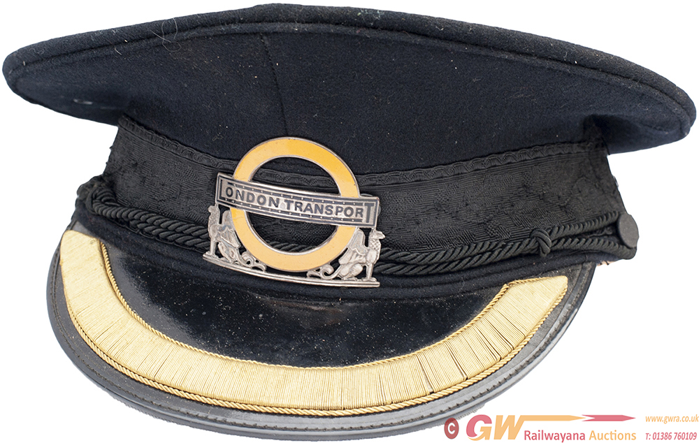 London Transport Inspectors Hat Size 6 3/4 With