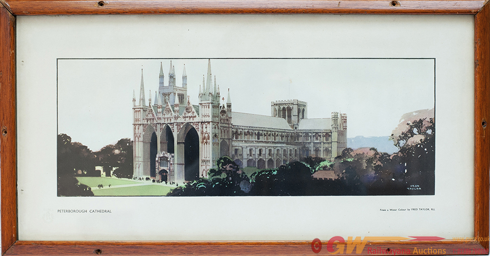 Carriage Print PETERBOROUGH CATHEDRAL By Fred