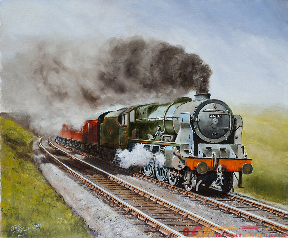Original Oil Painting On Canvas Of Royal Scot