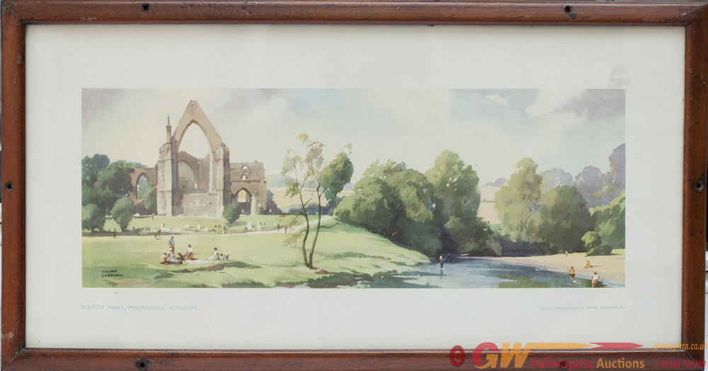 Carriage Print BOLTON ABBEY, WHARFEDALE, YORKSHIRE