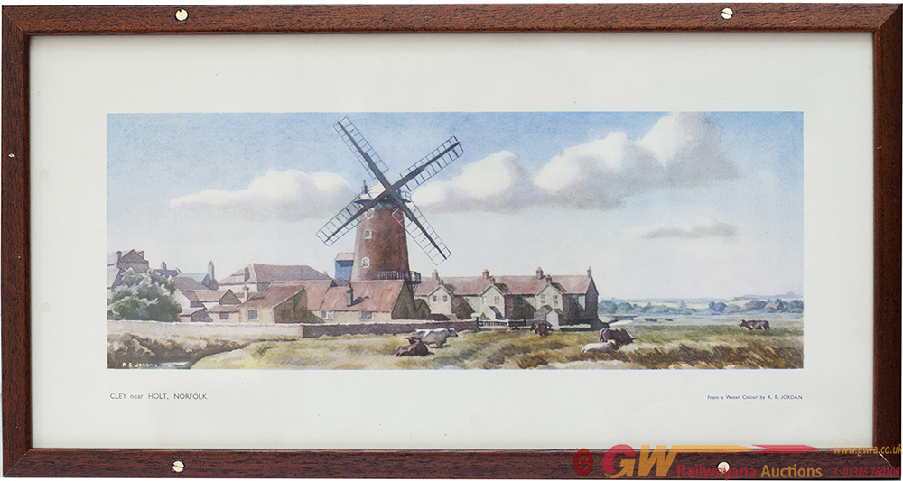 Carriage Print CLEY, NEAR HOLT, NORFOLK By Reg