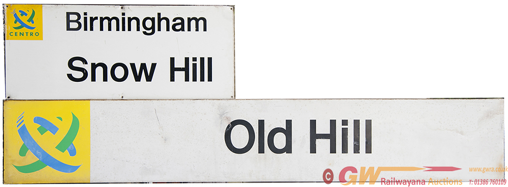 Modern Image Centro Signs OLD HILL 83in X 14in And
