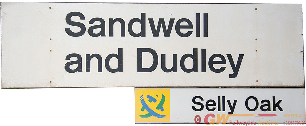 Modern Image Signs: BR SANDWELL AND DUDLEY 83in X