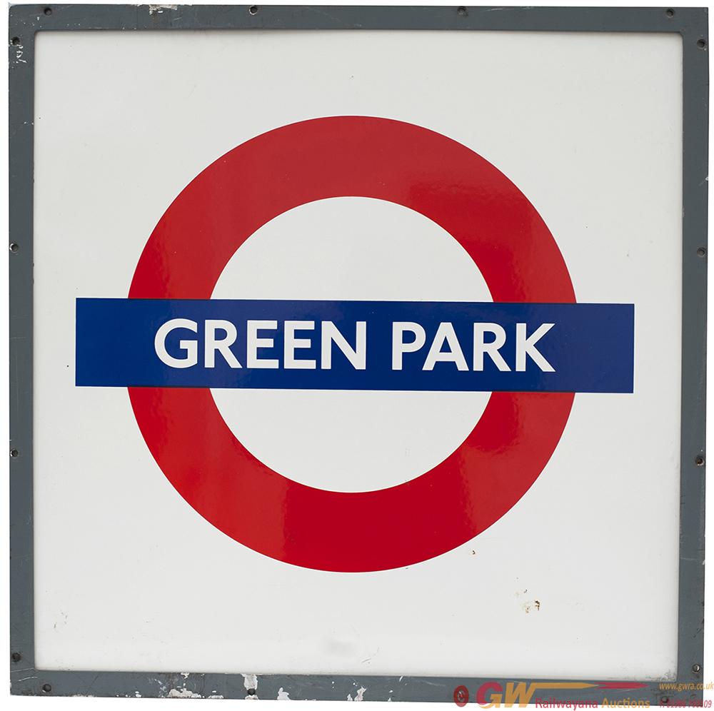 LT Enamel Target GREEN PARK In Original Aluminium