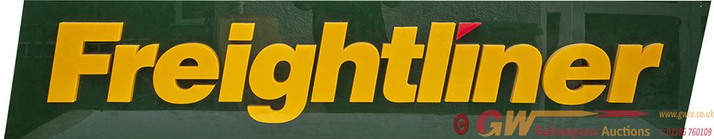 Freightliner Original Logo Sign, Manufactured From