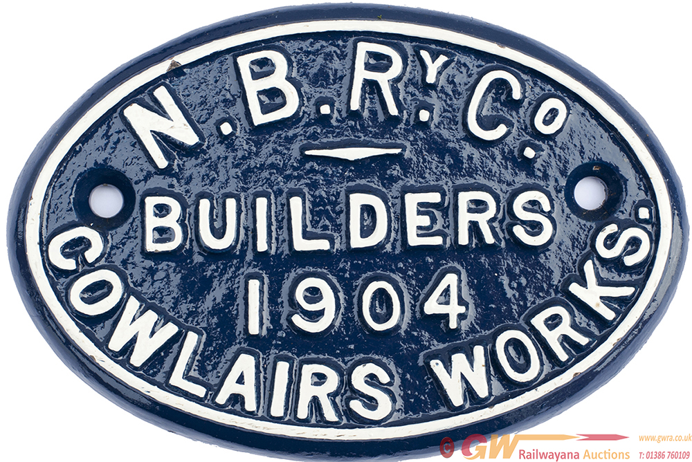 North British Railway Company Cast Iron Coach