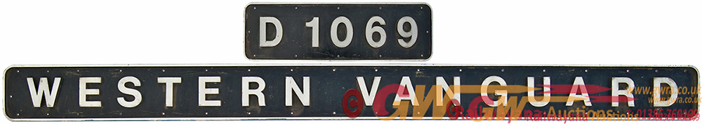 This Will Be Lot 420a In The Auction. Nameplate