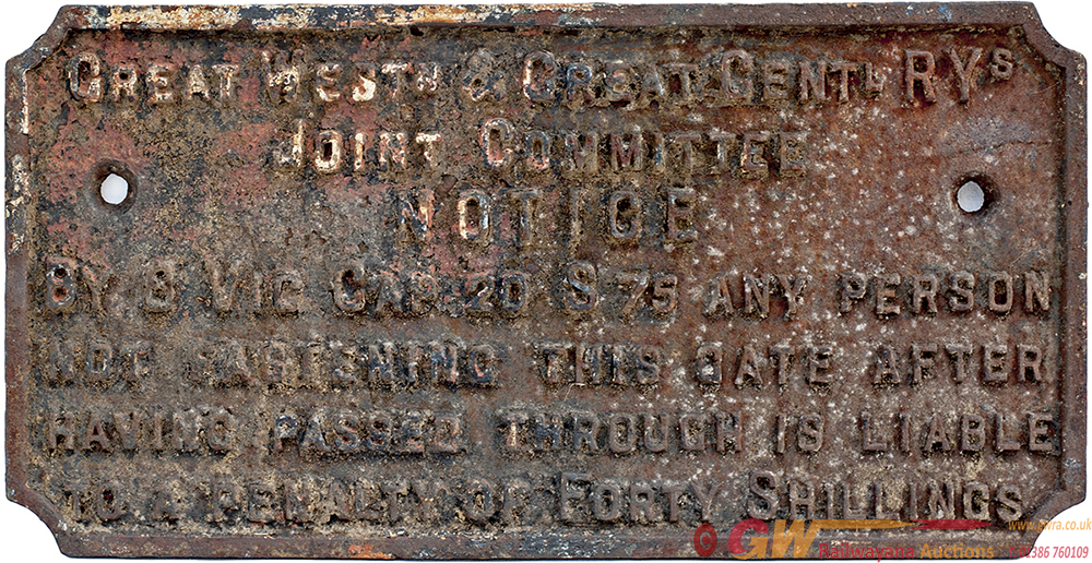 Great Western & Great Central Railways Joint