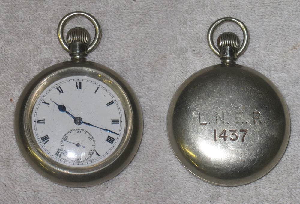 Railway Guards Pocket Watch. Stamped On Rear