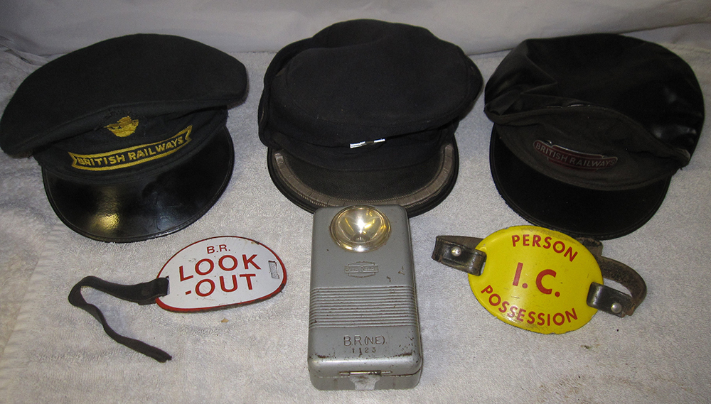 A Lot Containing Three British Railways Uniform