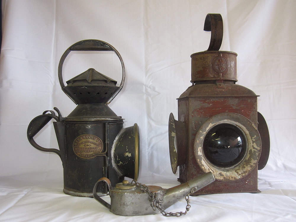 Private Owners Railway Hand Lamp Together With LMS