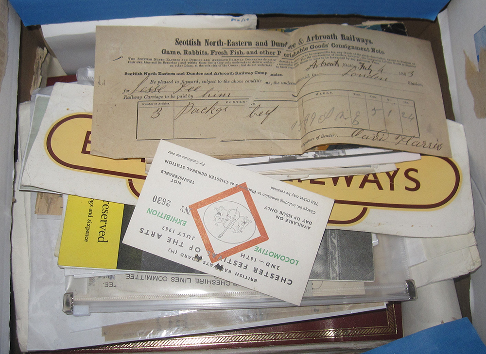 A Large Quantity Of Railway Associated Photos