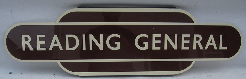 REPRODUCTION Totem Sign. READING GENERAL. Quality