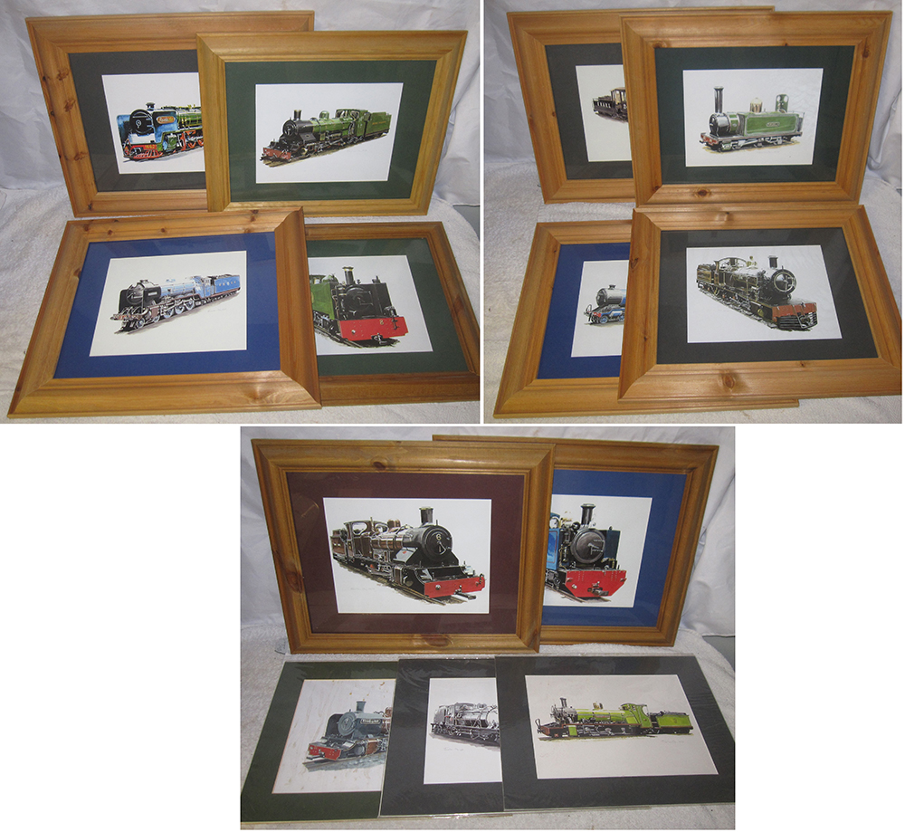 10 X New Framed Prints By Jonathan Clay. Various