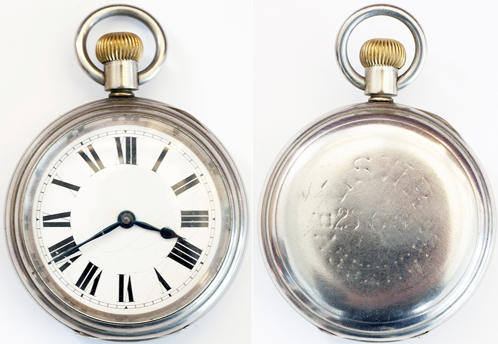 LSWR Nickel Cased Pocket Watch With American