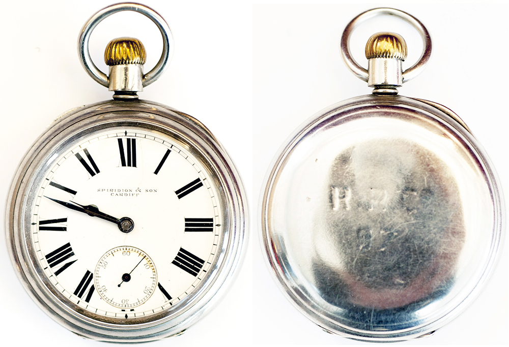 Rhymney Railway Nickel Cased Pocket Watch With