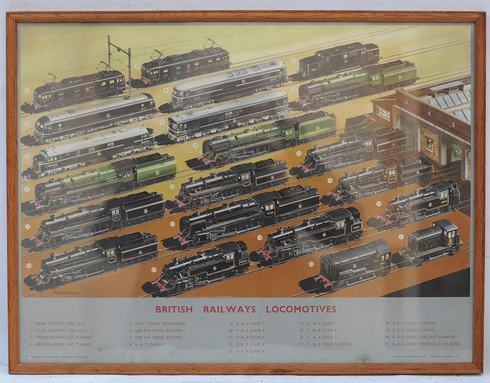 Original British Railways Locomotives Double Crown