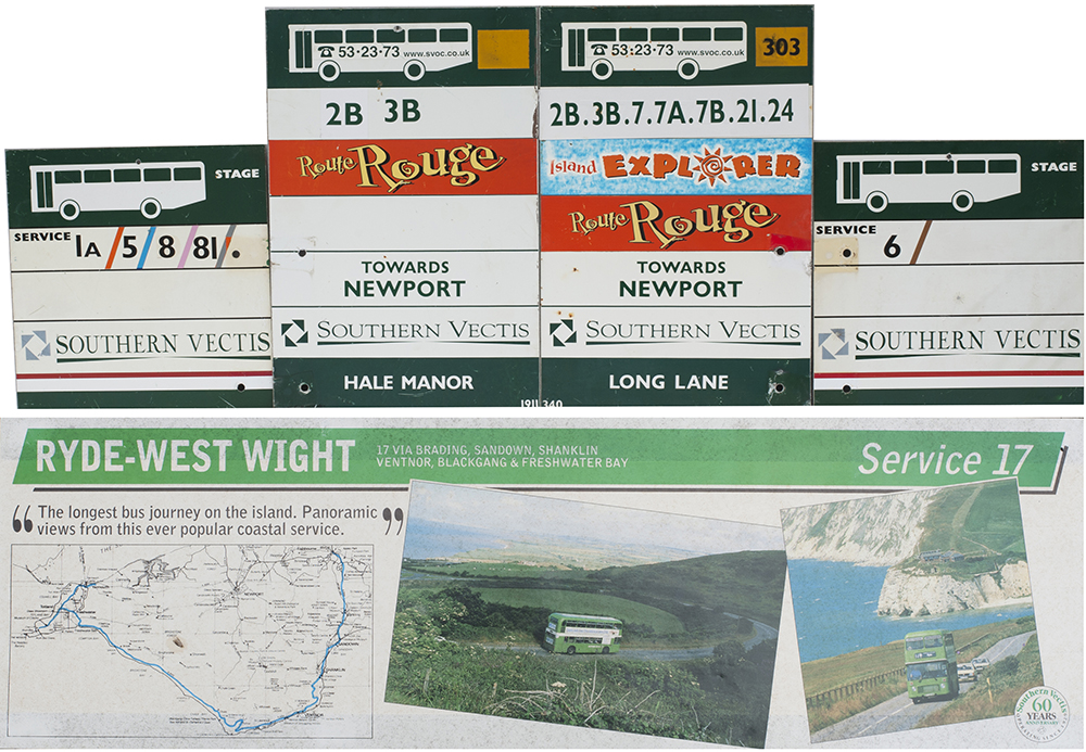 Isle Of Wight Bus Selection Consisting Of 4