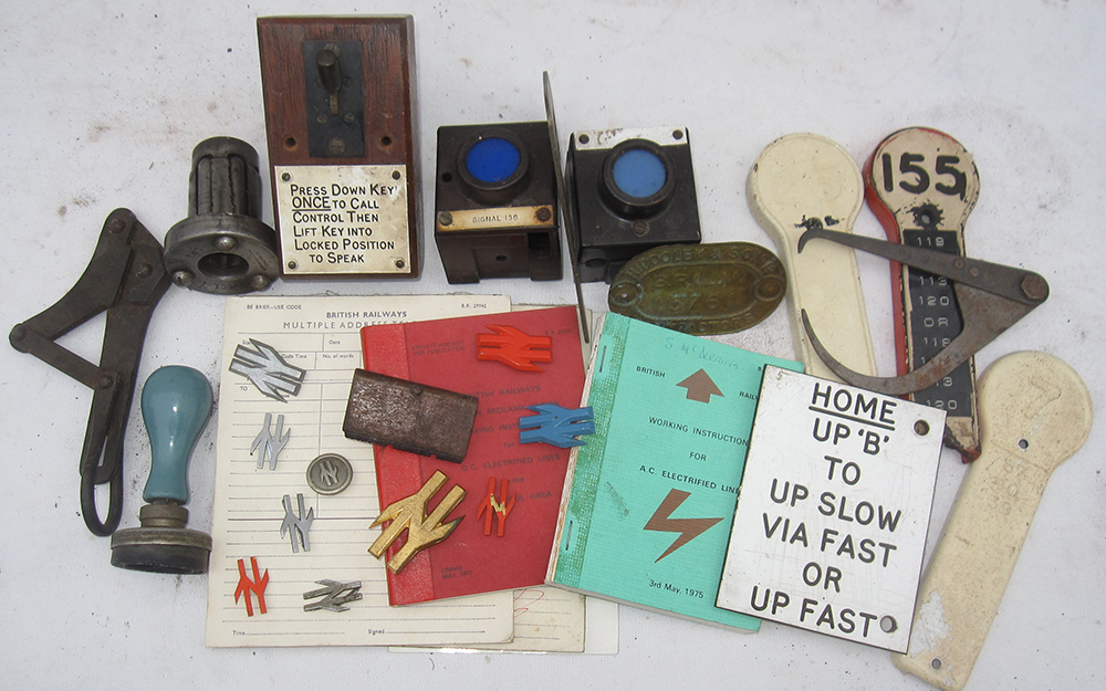 A Sundry Lot Of Various Signalling And Other