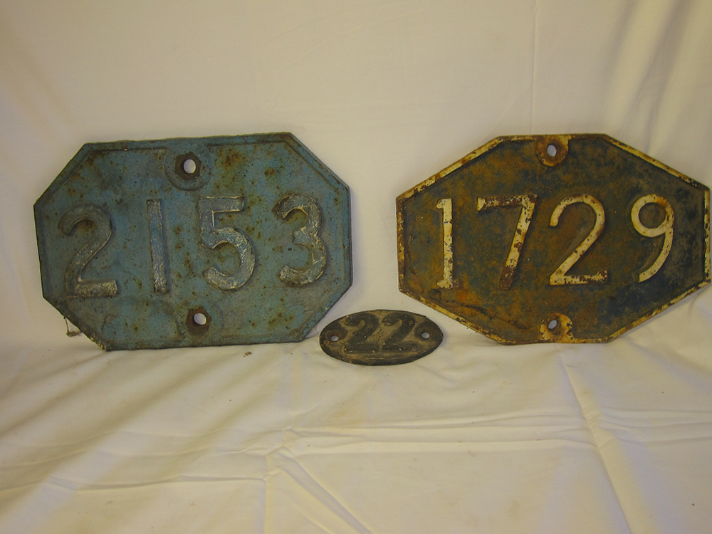 2 GER Bridge Plates. 1729 A Bridge Near Walsingham