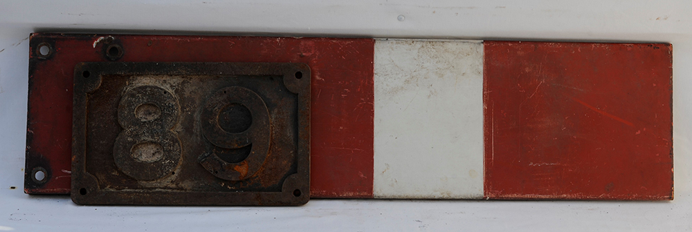 Midland Railway Bridge Plate 89 Together With An